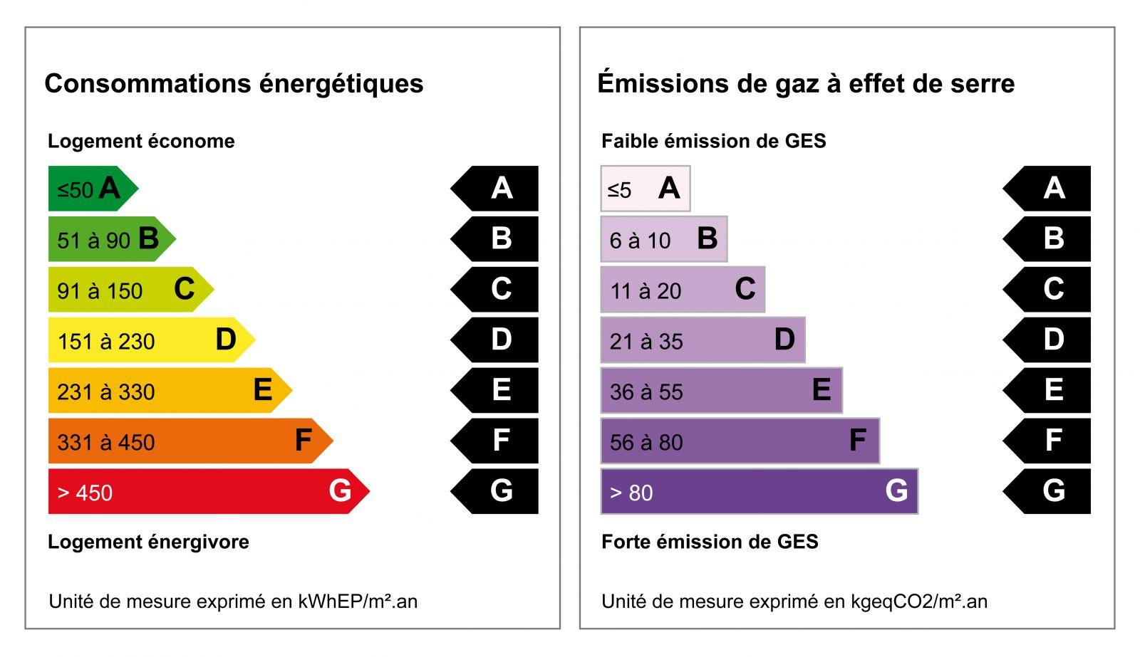 La progression du diagnostic de Performance énergétique